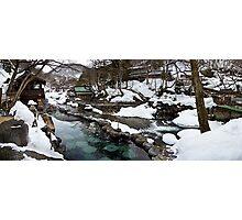Takaragawa Onsen Hot Springs Photographic Print