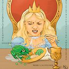 The Frog King - At Dinner by Nana Louise Nielsen