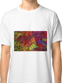 Fractured Honeycomb in Oil Classic T-Shirt