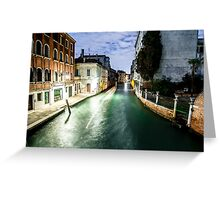 Venice - Long Exposure Greeting Card
