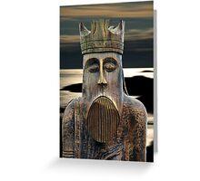 Lewis Chessman Greeting Card