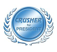 Crusher for President by ImagineThatNYC