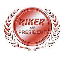 Riker for President by ImagineThatNYC