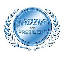 Jadzia for President by ImagineThatNYC