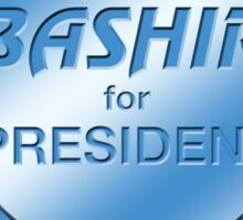 Bashir for President Sticker