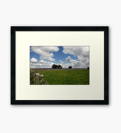 Countryside, Ireland Framed Print