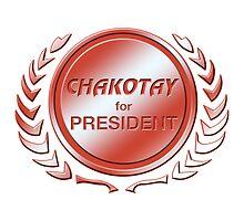 Chakotay for President by ImagineThatNYC