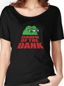 Pepe Frog Dawn of the Dank Women's Relaxed Fit T-Shirt