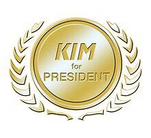 Kim for President by ImagineThatNYC