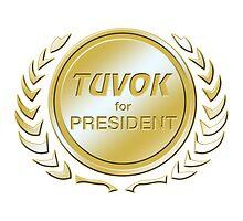 Tuvok for President by ImagineThatNYC