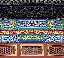 Detail, Temple of Heaven, Beijing by DaveLambert