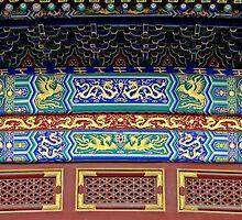 Detail, Temple of Heaven, Beijing by DaveLambert