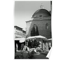 Markets in Florence Poster