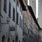 A Street in Florence by Sherony Lock