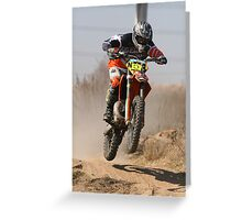 KTM250 Greeting Card
