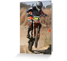 KTM250 (2) Greeting Card