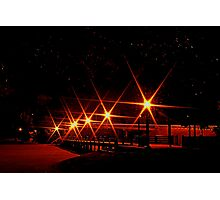 Ayish Bridge at Night Photographic Print