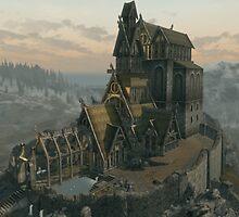 Skyrim Dragonsreach by Obercostyle
