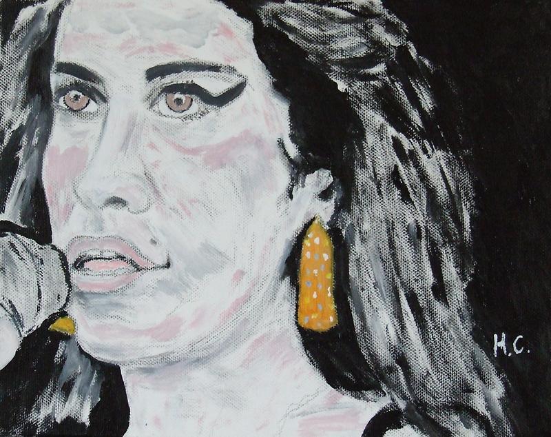 Amy Winehouse by horacecornflake