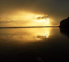 Sunset  Beach ~ by chrissy mitchell