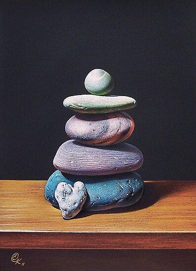 """Stone tower 2"" by Elena Kolotusha"