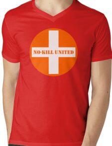 NO-KILL UNITED : PA-OW Mens V-Neck T-Shirt