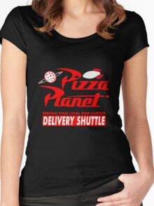 Pizza Planet Women's Fitted Scoop T-Shirt