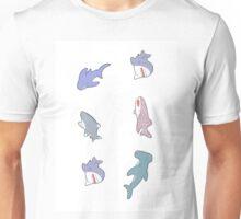 cute sharks Unisex T-Shirt