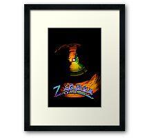 Zipper Dream Framed Print