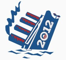 Obama's 2012 Ship Sinking by gleekgirl