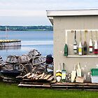 A Fishing Shed, North Rustico, PEI, Canada by Kenneth Keifer