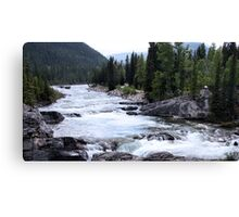 Elbow River View Canvas Print