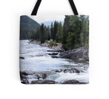 Elbow River View Tote Bag