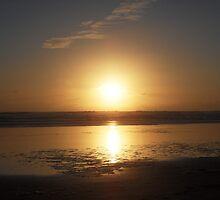 Beautiful West Coast Beach by chrissy mitchell