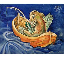 Fishing Fish Photographic Print