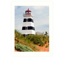 West Point Lighthouse, PEI, Canada Art Print