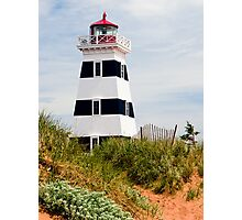 West Point Lighthouse, PEI, Canada Photographic Print