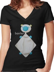 Baxter Women's Fitted V-Neck T-Shirt
