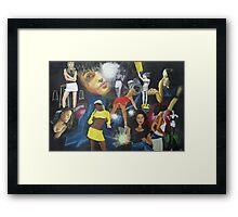 Girls On Film Framed Print