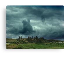 Summer Storm at Enderby Canvas Print