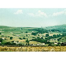 Scattered Cottages Photographic Print