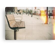 Bench. Canvas Print