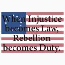 Rebellion Becomes Duty by Nwyvre