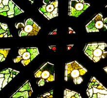 St Barnabas Church Window Norfolk Island Sticker