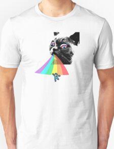 Rainbow Cat vs Mega Man T-Shirt