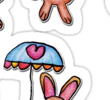 Bunnies by Grace (8) Sticker