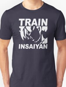 SILVER EDITION TRAIN INSAIYAN DRAGONBALL Z INSANE BODYBUILDING GOKU T-Shirt