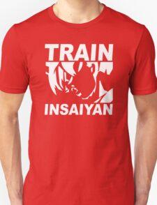 SILVER EDITION TRAIN INSAIYAN DRAGONBALL Z INSANE BODYBUILDING GOKU T-Shirt