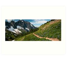 Cascade Pass - North Cascades N. P. Art Print