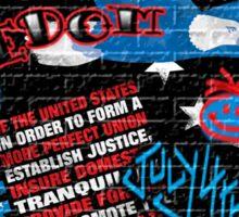 American Graffiti Sticker